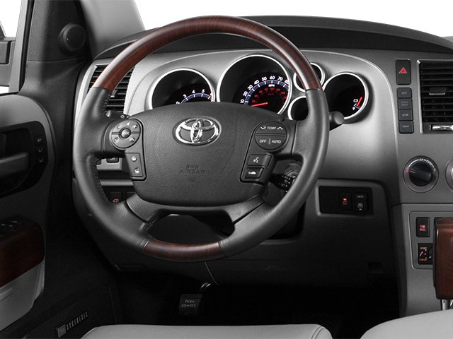 2014 Toyota Sequoia Pictures Sequoia Utility 4D Platinum 4WD V8 photos driver's dashboard