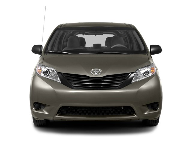 2014 Toyota Sienna Prices and Values Wagon 5D L V6 front view