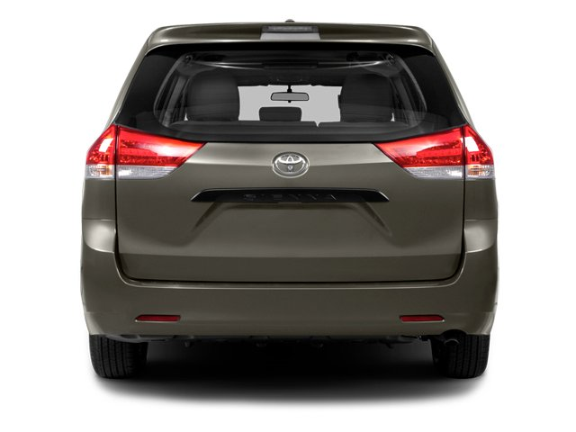 2014 Toyota Sienna Prices and Values Wagon 5D L V6 rear view