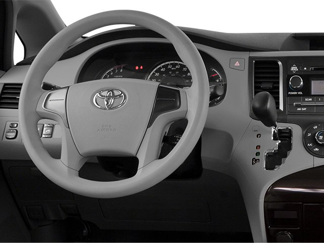 2014 Toyota Sienna Prices and Values Wagon 5D L V6 driver's dashboard