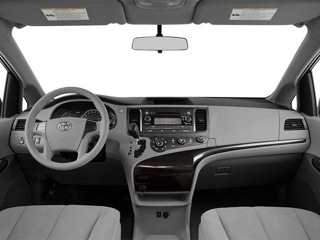 2014 Toyota Sienna Prices and Values Wagon 5D L V6 full dashboard