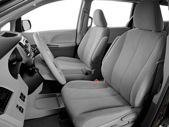 2014 Toyota Sienna Prices and Values Wagon 5D L V6 front seat interior
