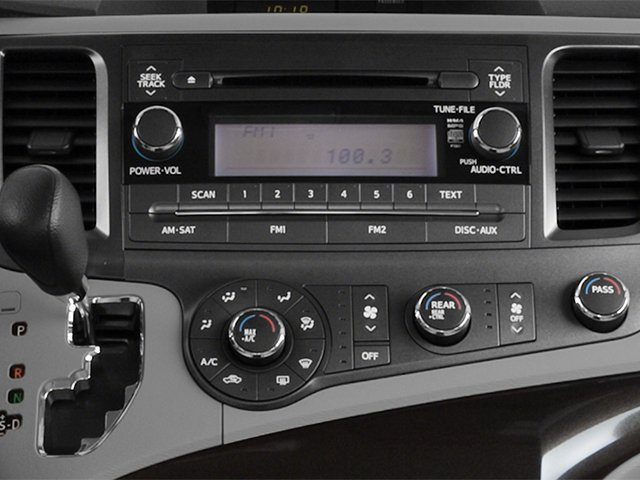 2014 Toyota Sienna Prices and Values Wagon 5D L V6 stereo system