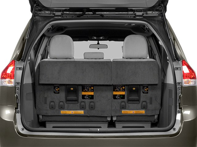 2014 Toyota Sienna Prices and Values Wagon 5D L V6 open trunk