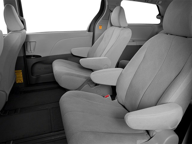 2014 Toyota Sienna Prices and Values Wagon 5D L V6 backseat interior