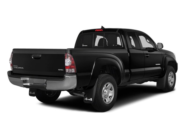 2014 Toyota Tacoma Prices and Values Base Access Cab 2WD I4 side rear view