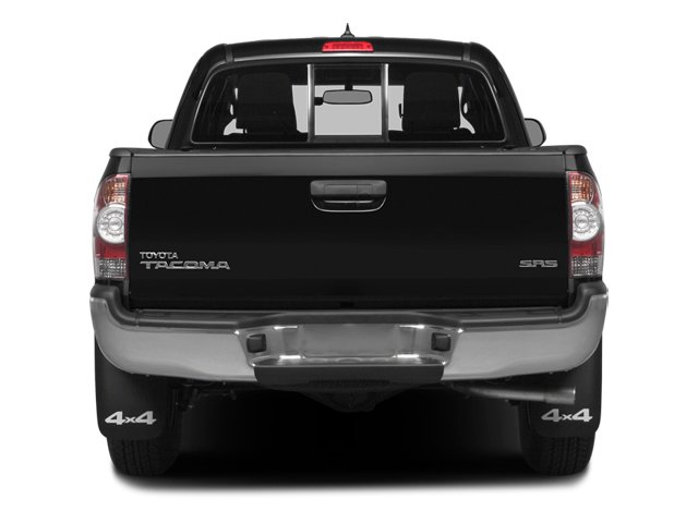 2014 Toyota Tacoma Prices and Values Base Access Cab 2WD I4 rear view