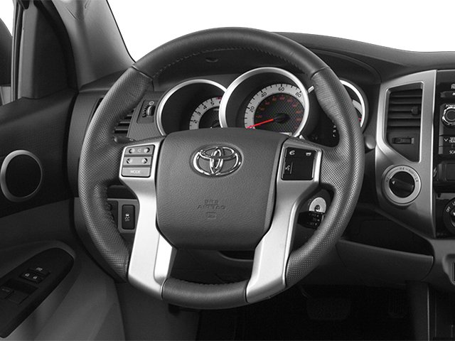 2014 Toyota Tacoma Prices and Values Base Access Cab 2WD I4 driver's dashboard