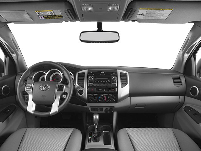 2014 Toyota Tacoma Prices and Values Base Access Cab 2WD I4 full dashboard
