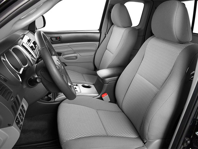 2014 Toyota Tacoma Prices and Values Base Access Cab 2WD I4 front seat interior