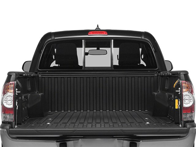 2014 Toyota Tacoma Prices and Values Base Access Cab 2WD I4 open trunk