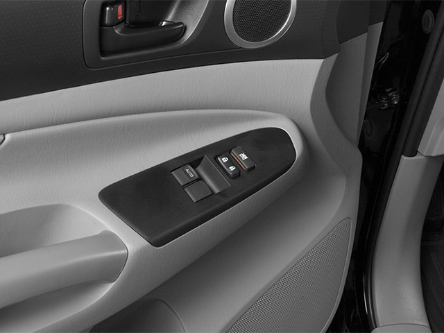 2014 Toyota Tacoma Prices and Values Base Access Cab 2WD I4 driver's side interior controls