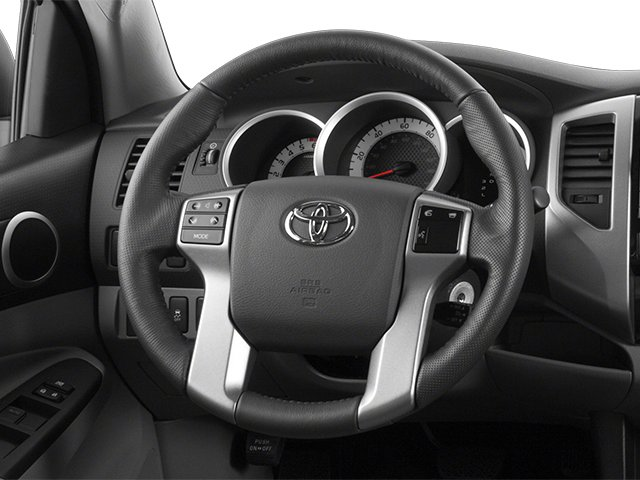 2014 Toyota Tacoma Prices and Values PreRunner 2WD V6 driver's dashboard