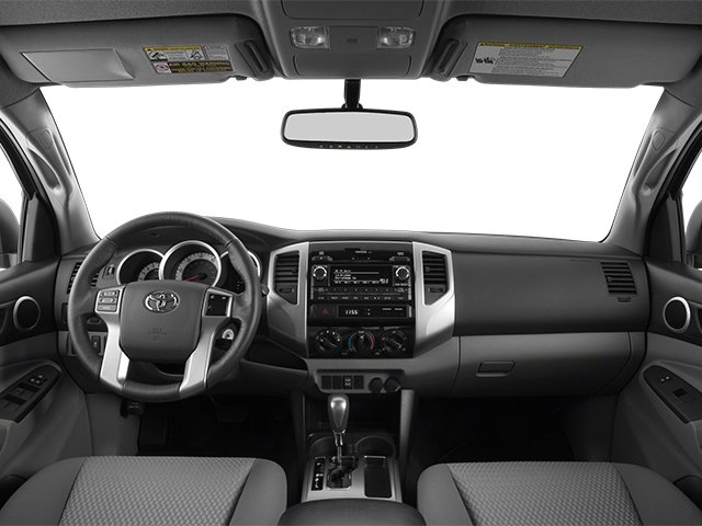 2014 Toyota Tacoma Prices and Values PreRunner 2WD V6 full dashboard