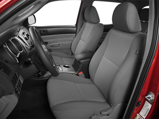2014 Toyota Tacoma Prices and Values PreRunner 2WD V6 front seat interior