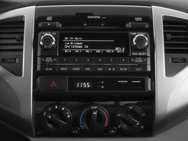 2014 Toyota Tacoma Prices and Values PreRunner 2WD V6 stereo system