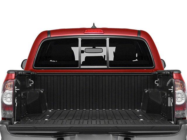 2014 Toyota Tacoma Prices and Values PreRunner 2WD V6 open trunk