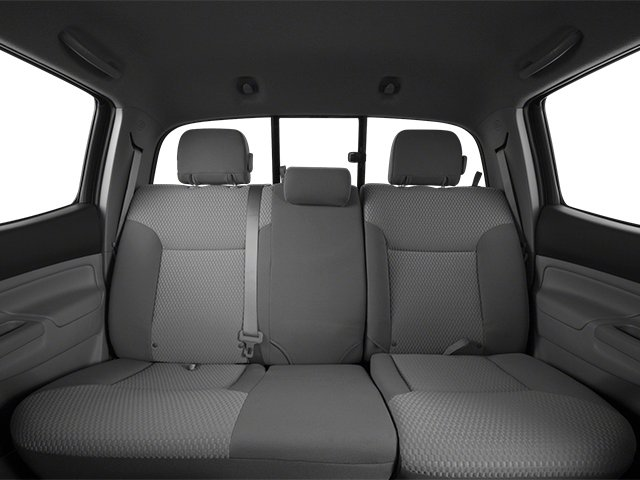 2014 Toyota Tacoma Prices and Values PreRunner 2WD V6 backseat interior
