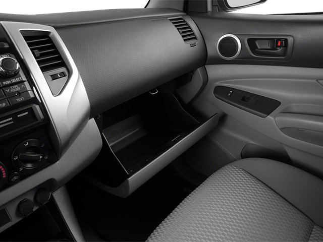 2014 Toyota Tacoma Prices and Values PreRunner 2WD V6 glove box