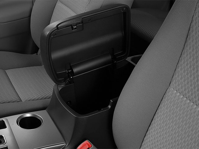 2014 Toyota Tacoma Prices and Values PreRunner 2WD V6 center storage console