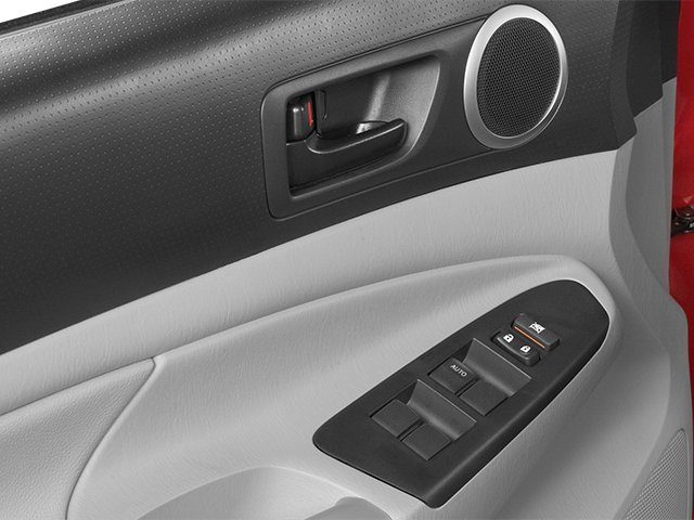 2014 Toyota Tacoma Prices and Values PreRunner 2WD V6 driver's side interior controls