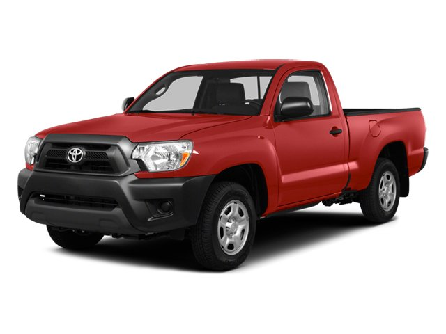 2014 Toyota Tacoma Pictures Tacoma Base 4WD I4 photos side front view