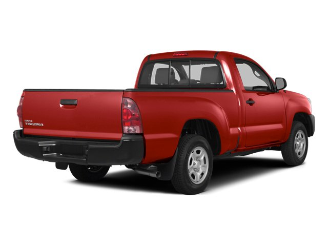 2014 Toyota Tacoma Pictures Tacoma Base 4WD I4 photos side rear view