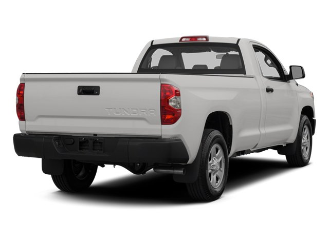 2014 Toyota Tundra 2WD Truck Prices and Values SR 2WD 5.7L V8 side rear view