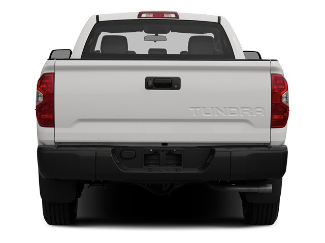 2014 Toyota Tundra 2WD Truck Prices and Values SR 2WD 5.7L V8 rear view