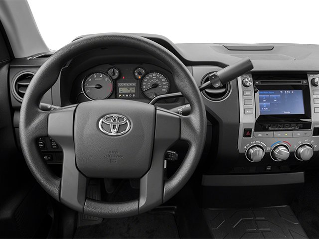 2014 Toyota Tundra 2WD Truck Prices and Values SR 2WD 5.7L V8 driver's dashboard