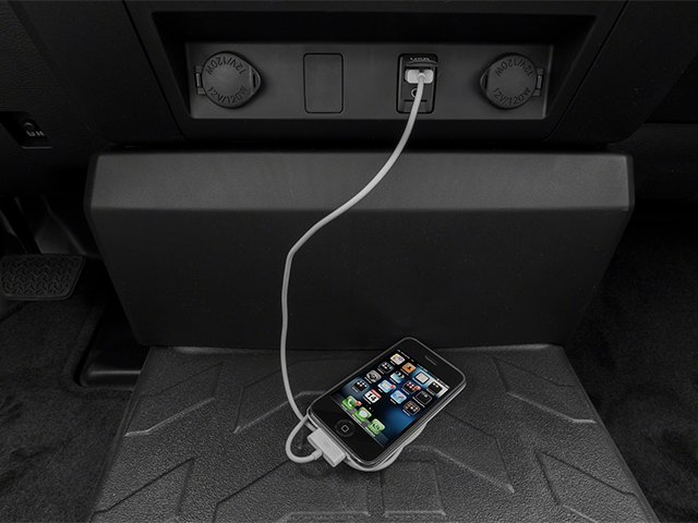 2014 Toyota Tundra 2WD Truck Prices and Values SR 2WD 5.7L V8 iPhone Interface