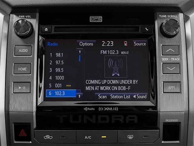 2014 Toyota Tundra 4WD Truck Pictures Tundra 4WD Truck SR5 4WD 5.7L V8 photos stereo system