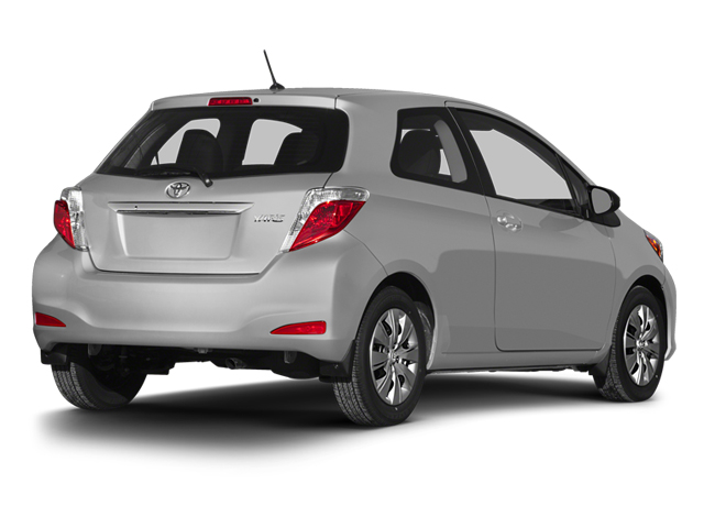 2014 Toyota Yaris Prices and Values Hatchback 3D LE I4 side rear view