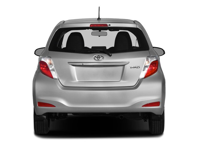 2014 Toyota Yaris Prices and Values Hatchback 3D LE I4 rear view