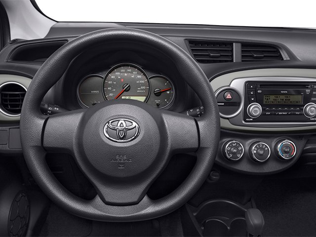 2014 Toyota Yaris Prices and Values Hatchback 3D LE I4 driver's dashboard