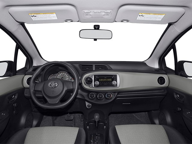 2014 Toyota Yaris Prices and Values Hatchback 3D LE I4 full dashboard