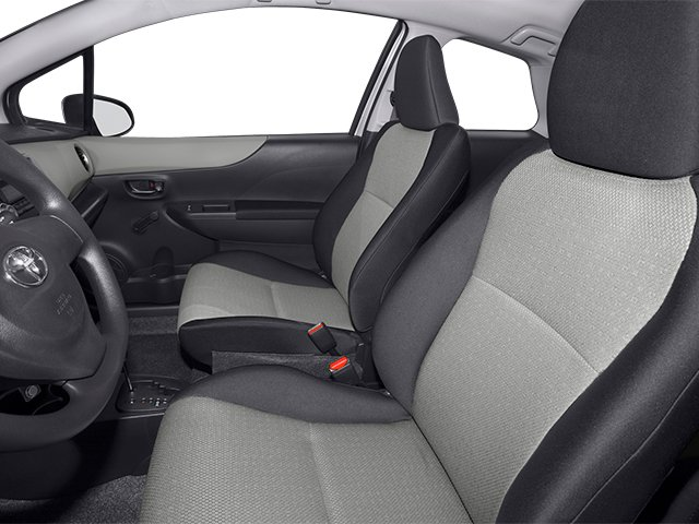 2014 Toyota Yaris Prices and Values Hatchback 3D LE I4 front seat interior