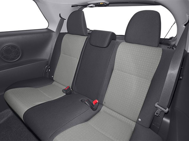 2014 Toyota Yaris Prices and Values Hatchback 3D LE I4 backseat interior