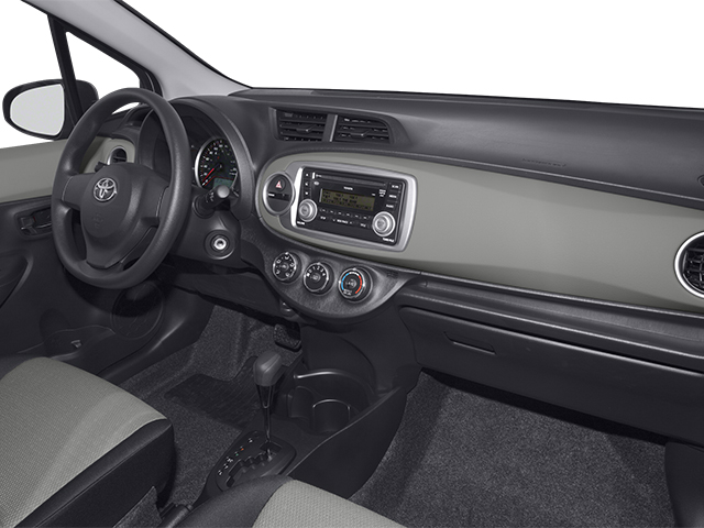 2014 Toyota Yaris Prices and Values Hatchback 3D LE I4 passenger's dashboard