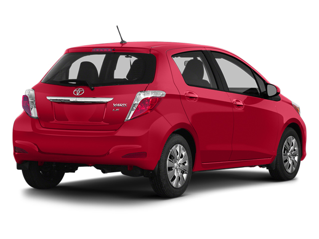 2014 Toyota Yaris Prices and Values Hatchback 5D L I4 side rear view