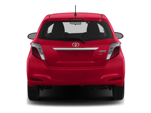 2014 Toyota Yaris Prices and Values Hatchback 5D L I4 rear view