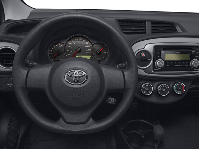 2014 Toyota Yaris Prices and Values Hatchback 5D L I4 driver's dashboard
