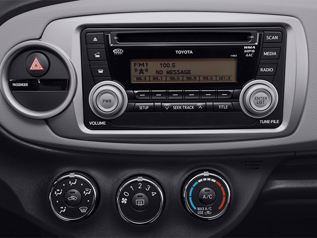 2014 Toyota Yaris Prices and Values Hatchback 5D L I4 stereo system