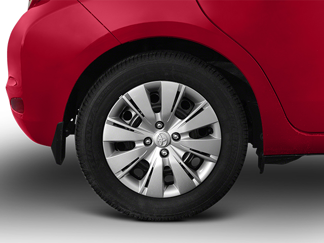 2014 Toyota Yaris Prices and Values Hatchback 5D L I4 wheel