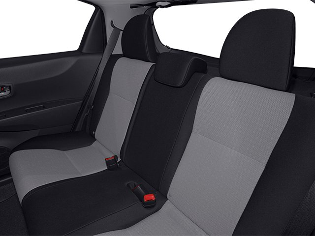 2014 Toyota Yaris Prices and Values Hatchback 5D L I4 backseat interior