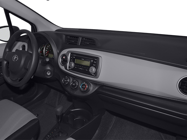 2014 Toyota Yaris Prices and Values Hatchback 5D L I4 passenger's dashboard