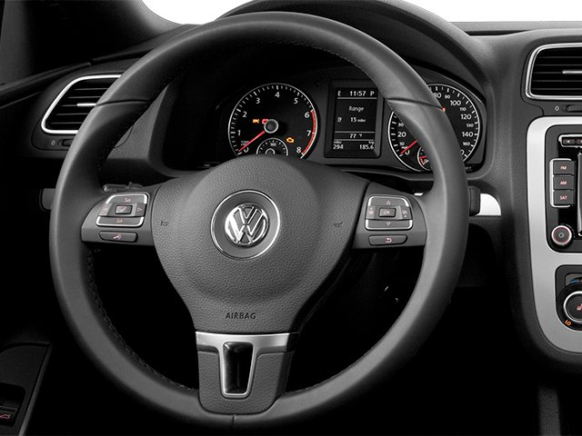 2014 Volkswagen Eos Pictures Eos Convertible 2D Executive I4 Turbo photos driver's dashboard