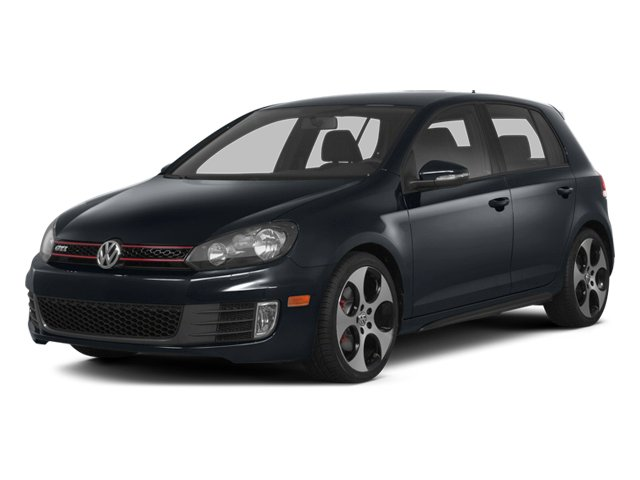 2014 Volkswagen GTI Prices and Values Hatchback 4D 2.0T I4 Turbo side front view