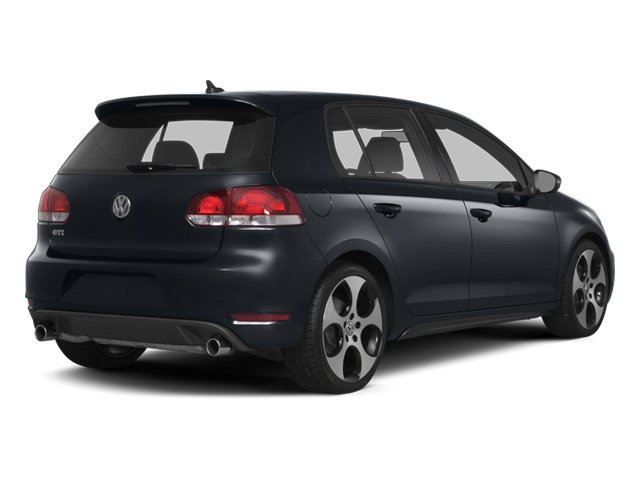 2014 Volkswagen GTI Prices and Values Hatchback 4D 2.0T I4 Turbo side rear view