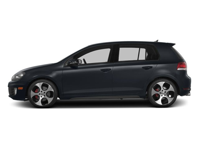 2014 Volkswagen GTI Prices and Values Hatchback 4D 2.0T I4 Turbo side view